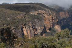 acantilados de arenisca